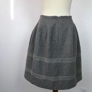 Madewell Skirts - Madewell Wool Blend Pockets Full Skirt